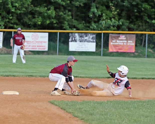 Ridgers baseball loses to the Bengals