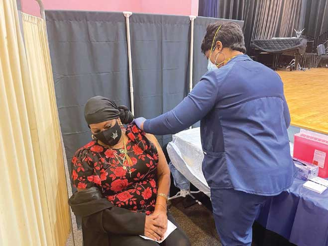 COVID-19 vaccine pop-up mobile clinic arrives in East Orange