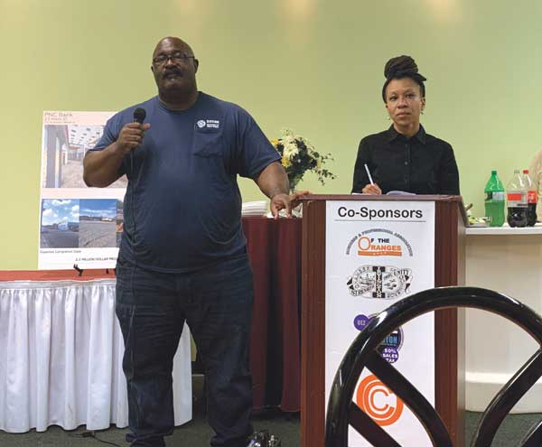 East Orange, Orange discuss development at tri-community seminar