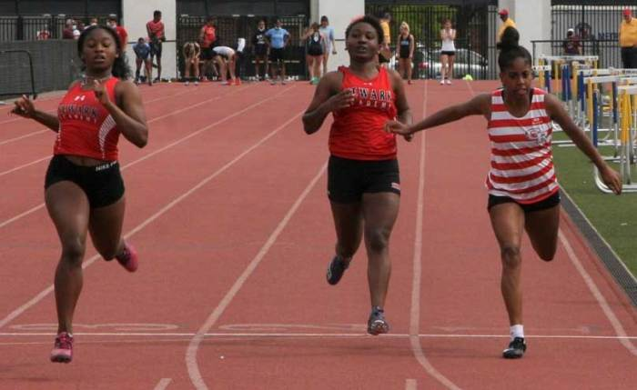 GRHS track and field takes fifth place at SEC meet