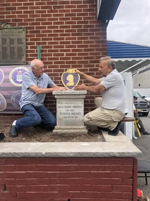 Belleville becomes a Purple Heart town