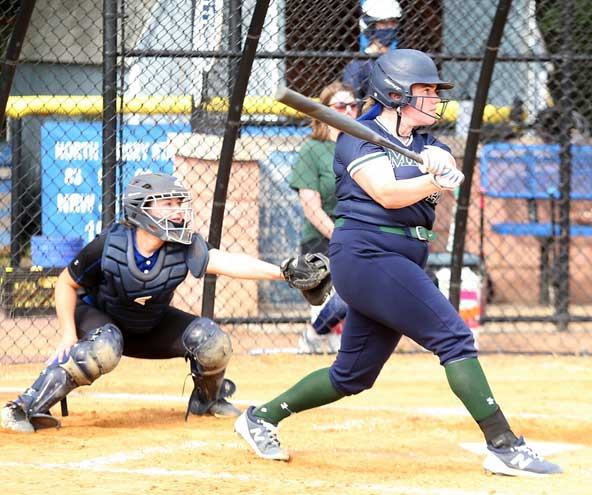 Maplewood's Turvey leads MKA softball by example