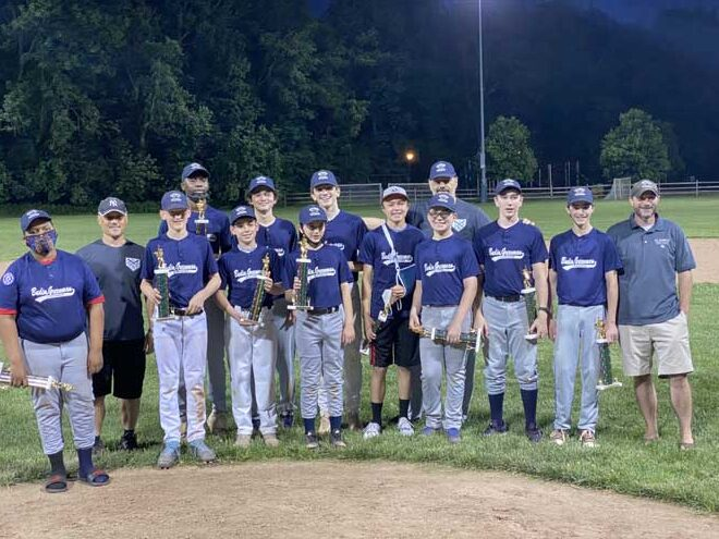 Champions go 11-1 in SOM Baseball Babe Ruth Division