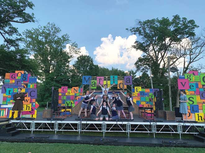 The magic returns as CHS stages 'Matilda' outdoors in South Orange