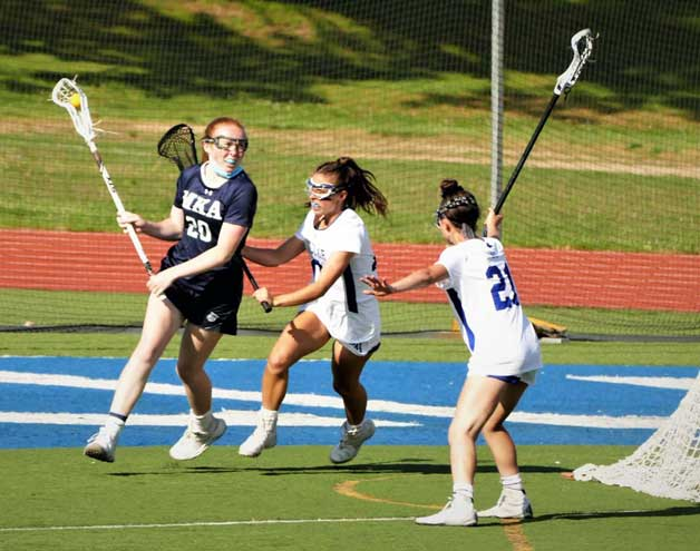 Columbia-Walsh is top lacrosse player for MKA