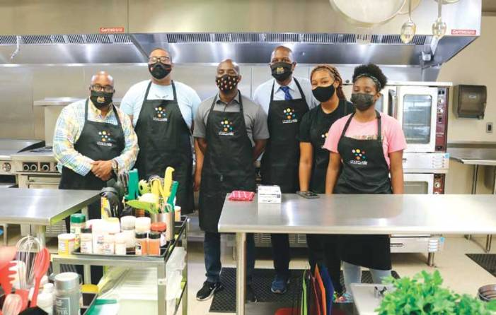 Orange community leaders get 'Chopped' in the kitchen