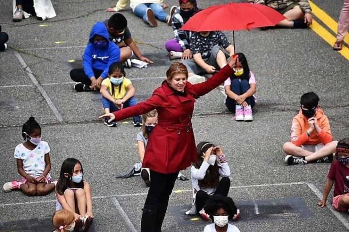 'Whole school meeting' celebrates student, staff at Hazel Elementary