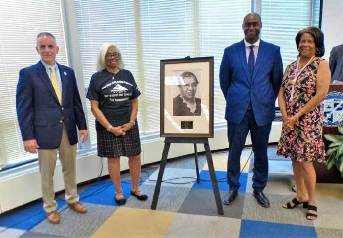 WOSD, WOAHO recognize Anna Easter Brown during Juneteenth celebration
