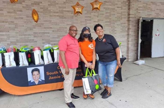 Orange councilwoman helps provide essentials to college-bound students