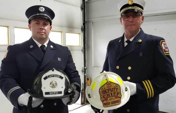 West Orange Fire Dept. holds promotion ceremony