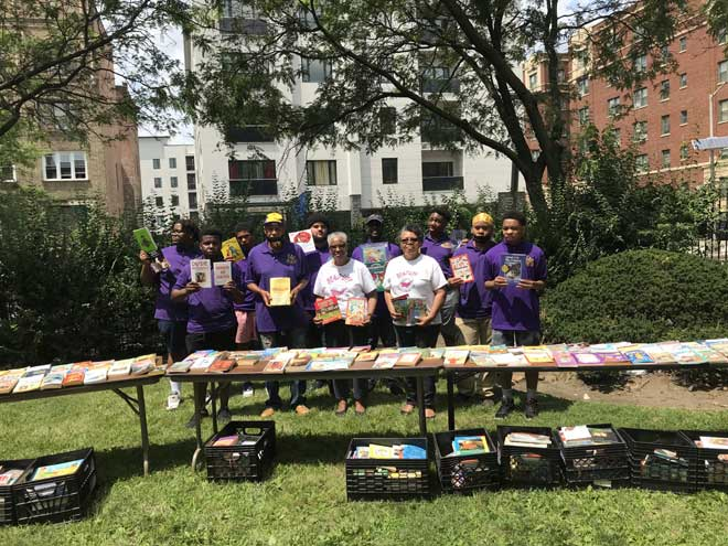 East Orange Rotary holds successful book giveaway event