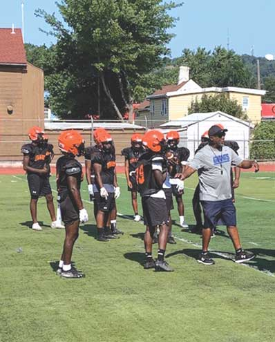 Orange football has strong potential with talented group
