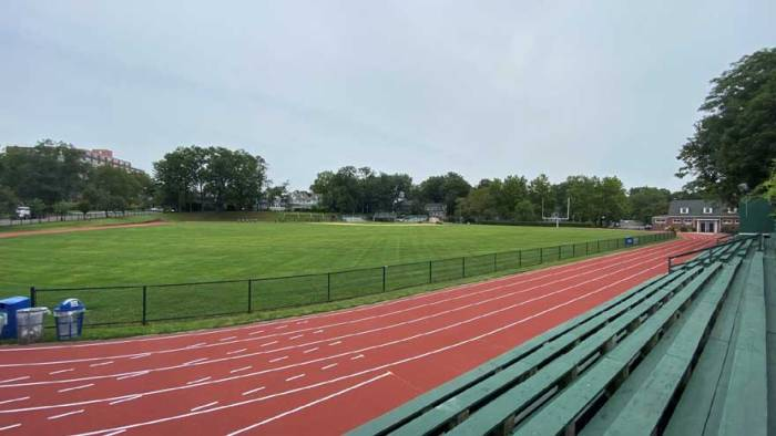 Hurrell Field reopens with track renovations