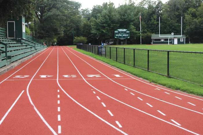 Glen Ridge works to keep tracks and fields at their best