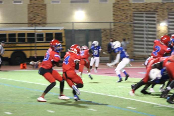 East Orange Campus football team hands its coach a birthday gift with win over Montclair