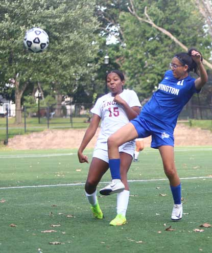 Irvington HS girls soccer team falls to red-hot Bloomfield