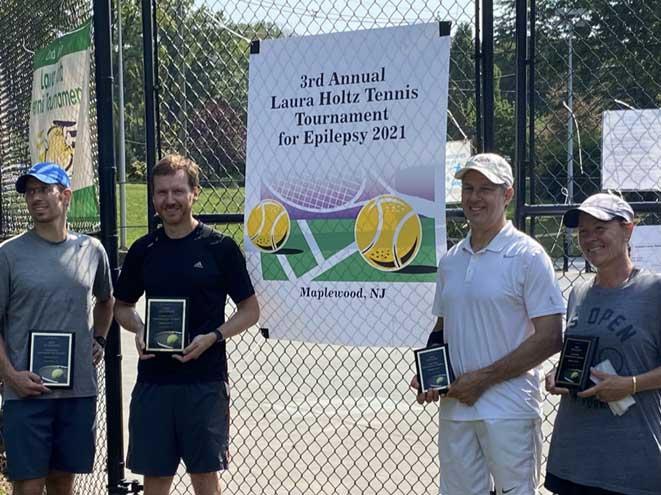 Charity tennis tournament raises more than $4,000 to combat epilepsy