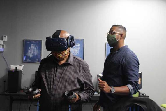 South Orange Community Care & Justice previews virtual reality '1,000 Cut Journey'