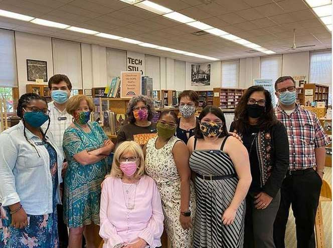 Kalb retires from South Orange Public Library after 36 years