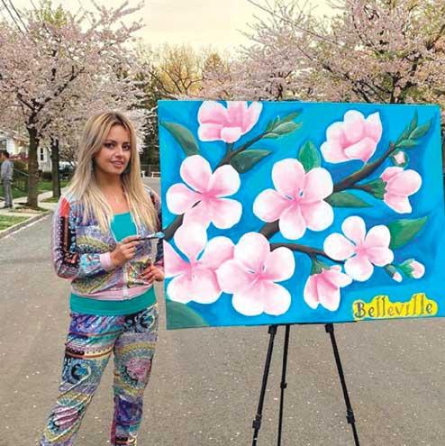 Meet Belleville's official artist: Athena Zhe