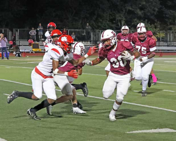 Bloomfield HS football team falls to Columbia