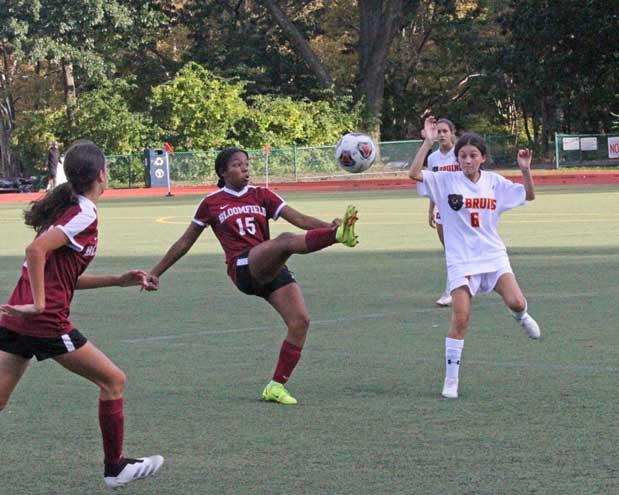 Bloomfield HS girls soccer team falls to North Bergen