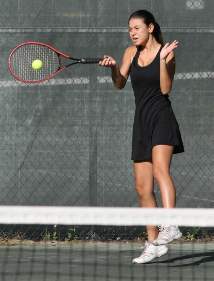 Glen Ridge HS girls tennis team hosts Newark Academy