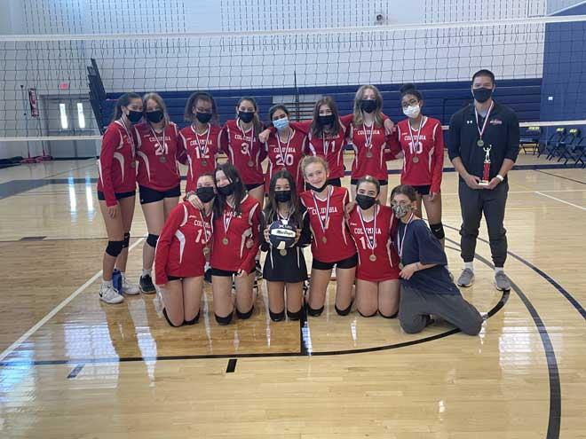 Columbia HS freshman girls volleyball team wins Payne Tech JV tournament