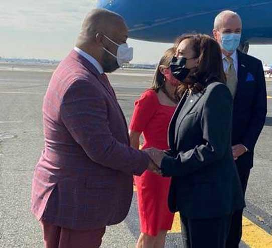 Payne welcomes VP Kamala Harris to Essex County