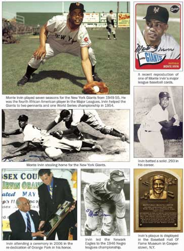 Orange native and baseball legend Monte Irvin posthumously inducted into New Jersey Hall of Fame