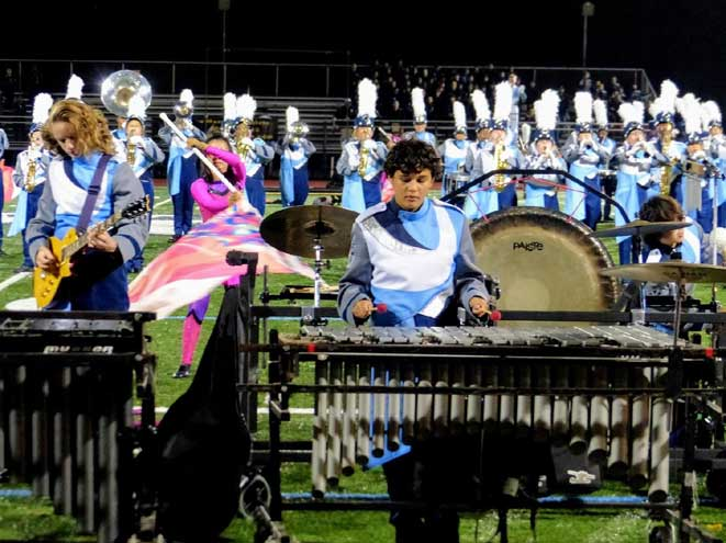Eighth Annual WOHS Marching Band Invitational delights crowd