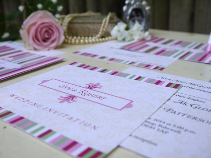 LITTLE STRINGERS INVITES VICTORIAN CHIC