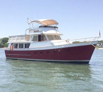 Ocean Alexander 50 purchased through Essex Yacht Sales