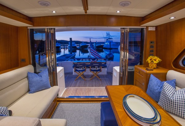Eastbay 50 SX offered by Essex Yacht Sales
