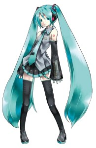 Hastune Miku Vocaloid Software 2 Box Art