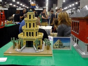 Tovera Castle Lego modle