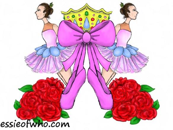 Ballerina Damask