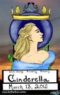 Cinderella Art Noueau Poster