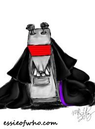 K-9 cosplays 3rd Doctor