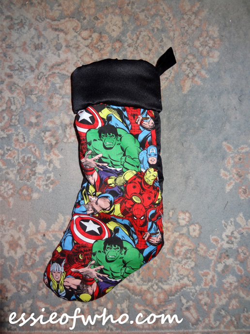 Avengers Christmas Stocking