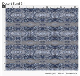 desert sand 3 fabric design