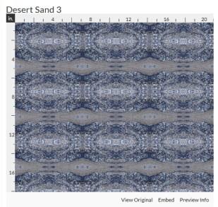 desert sand 3 fabric design