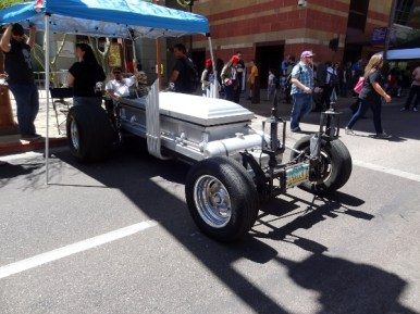 Eddie Munster's car... or at least one that looks like it!