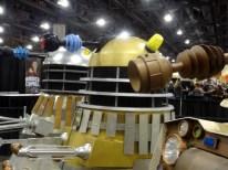 The three Dalek eye stalks