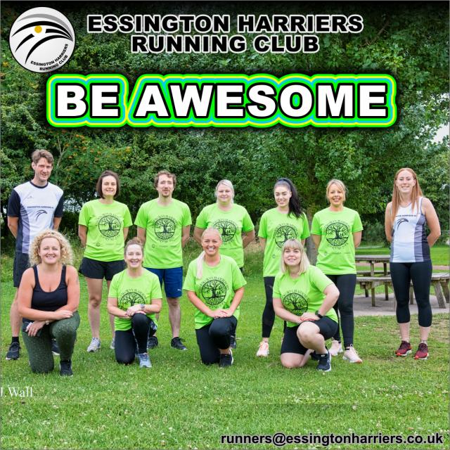 Essington Harriers Running Club Beginners Group Runners