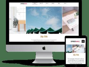 Interiors designer web template – Wix
