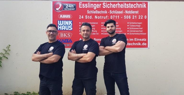 Esslinger Sicherheitstechnik Service Team
