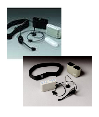 3M C860 Beltpack Order Taker & Wired Headset