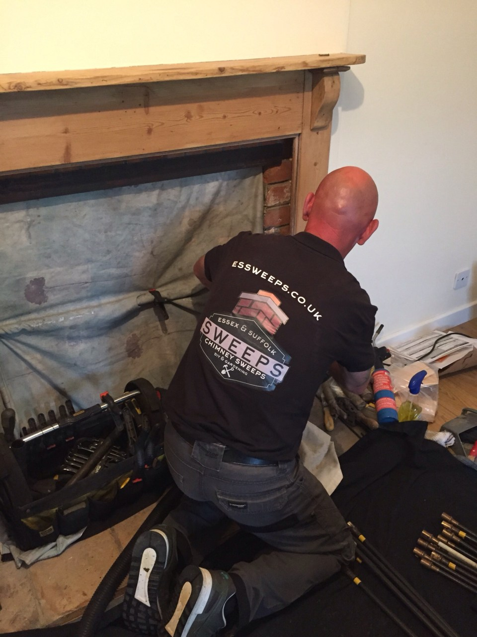 Chimney Sweep in Needham