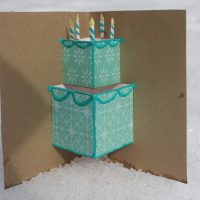 Simple Pop-up Birthday Card